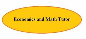 Tutoring in Economics, Finance and Statistics Edmonton Edmonton Area image 1