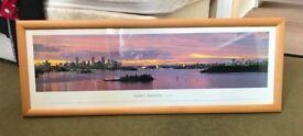 Framed Australia Print