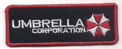 UMBRELLA CORPORATION (Resident evil logo patch) 8.3x3.1 Cm