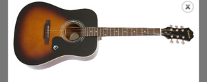 Epiphone acoustic guitar brand new