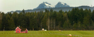 Have a lot of acreage in BC?