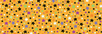 Trick Or Treat Costumes For Kids (Trick or Treat Orange Stars by Doodlebug Designs for Riley Blake, 1/2 yd)