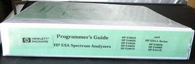 Hp Esa Spectrum Analyzers Programmers Guide