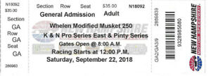 New Hampshire Motor Speedway Full Throttle Fall Weekend