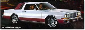 1981 Dodge  diplomat caravell