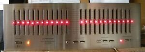 Pioneer SG-9800 silverface EQ with lights