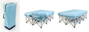 Air mattress with stand