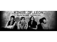 Kings of Leon Glasgow Hydro 27th February 2tickets for £150 Standing