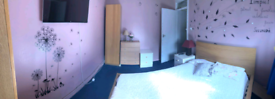 DOUBLE ROOM SUITABLE FOR COUPLE AND SINGLE OCCUPANCY