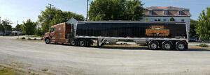 Hopper a grain B-train 45' 2 essieux 3 essieux 4 essieux Lodekin