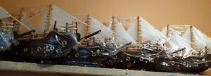 Handcrafted Model Boats