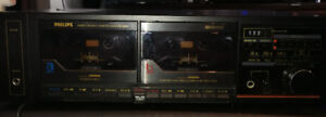 Phillips twin tape player