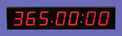 LARGE BIG DIGITAL LED WALL CLOCK COUNTDOWN & UP TIMER 7 DIGITS STOPWATCH TT4070