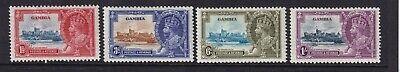 GAMBIA 1935 Silver Jubilee set LHM (968)