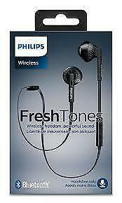 Philips Wireless Fresh Tones earphones  brand new sealed.