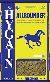 Hygain Allrounder Horse Pellets 20kg Bacchus Marsh Moorabool Area Preview