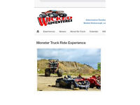 Monster truck experience