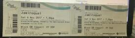 2 tickets for Jamiroquai