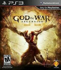 God of War: Ascension Gaming /Playstation3 Games