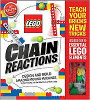 LEGO Chain Reactions: Make Amazing Moving Machines BOOK NEW