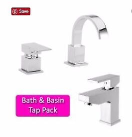 Basin and Bath tap package from £89