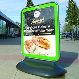 Sentinel Large Pavement Sign A0