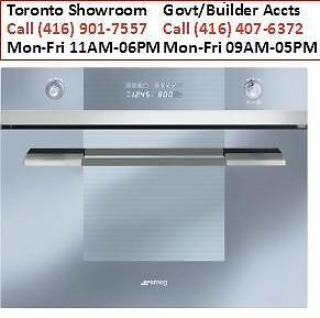 "Smeg SCU45MCS1 60CM (Approx. 24"") Built-in Speed Oven with 1000W Microwave, Stainless Steel  Model # SCU45MCS1 Get addit"