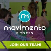 Movimento Fitness Seeking Receptionist/Admin Assistant