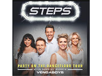 2 x Steps tickets