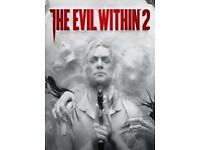 Evil within 2 PS4 PlayStation 4 game