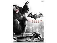 Batman Arkham City STEAM KEY