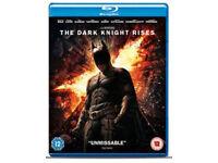 Batman Begins/Dark knight/Dark knight rises BLU-RAYS