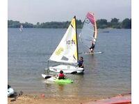 Laser Bug Child Sailing Dinghy Boat