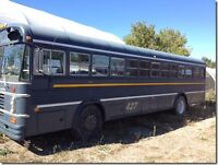 1976 BLUE BIRD BUS Final price reduction...MUST SELL!!!!