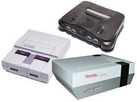 Will Travel, Nes Snes N64 Systems Games Working/Broken. Pay CASH