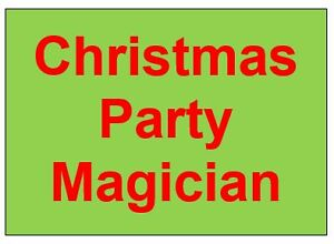 Magic for Christmas Parties