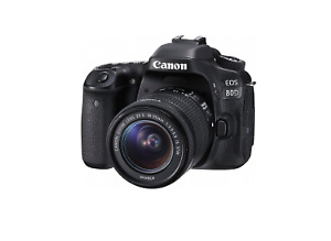 Canon DSLR 80D Body Only LIKE NEW!