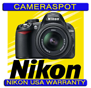 NIKON-D3100-DIGITAL-SLR-CAMERA-14mp-18-55mm-VR-NEW-NIKON-USA-WARRANTY
