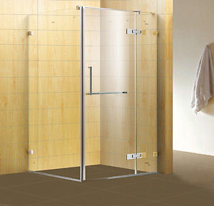 Frameless Glass Shower 1200x900 HALF PRICE Discount Clearance