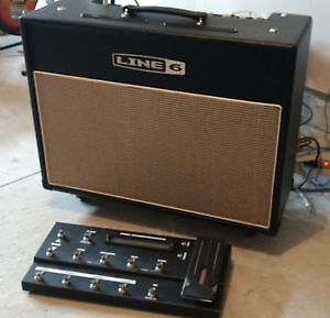 Line 6 AMP  and footboard REDUCED $$