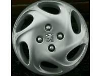 Set of 4 Peugeot 206 14inch wheel trims