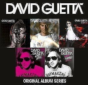 David Guetta /Just a Little, Guettablaster, Pop Life, One Love u.a(5 CDs,NEU!)