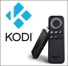 Fire tv stick with kodi fully loaded