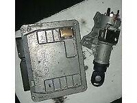 VW Polo 1.2 ECU, Key, Ignition Barrel, Transponder (2005)