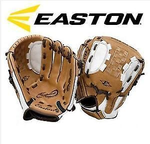 "NEW: EASTON N12FP 12"" YOUTH FAST PITCH SOFTBALL GLOVE RIGHT HAND"