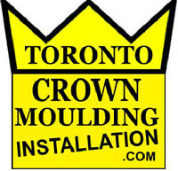 """►► CROWN MOULDING INSTALLATION LABOUR & MATERIAL JUST 3.50/FT 5"""""""