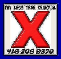 Pay less tree and stump removal GTA.