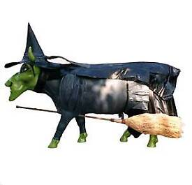 Cow Parade Wizard of Oz Wicked witch