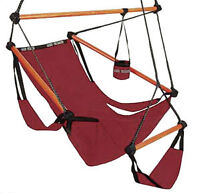 Pyrch Relaxation Chair and C-Frame Hammock Stand