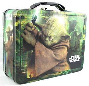 Metal Star Wars Lunch Box  sc 1 st  eBay : star wars lunch box - Aboutintivar.Com